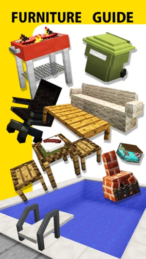 Furniture Mod, Guide, Video - Game Pocket Wiki for Minecraft PE & PC ...