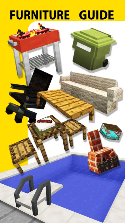 Furniture Mod, Guide, Video - Game Pocket Wiki for Minecraft PE & PC Edition