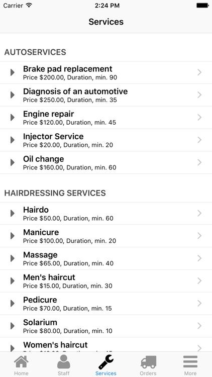 Nano Service Booking