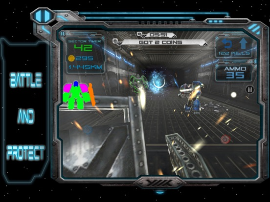 Robotic Wars sci-fi FPS Shooter with lots of guns | App