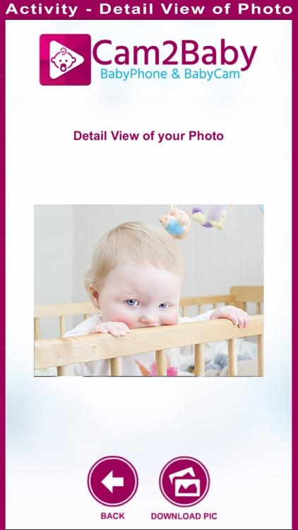 Cam2Baby - Baby Monitor screenshot-3