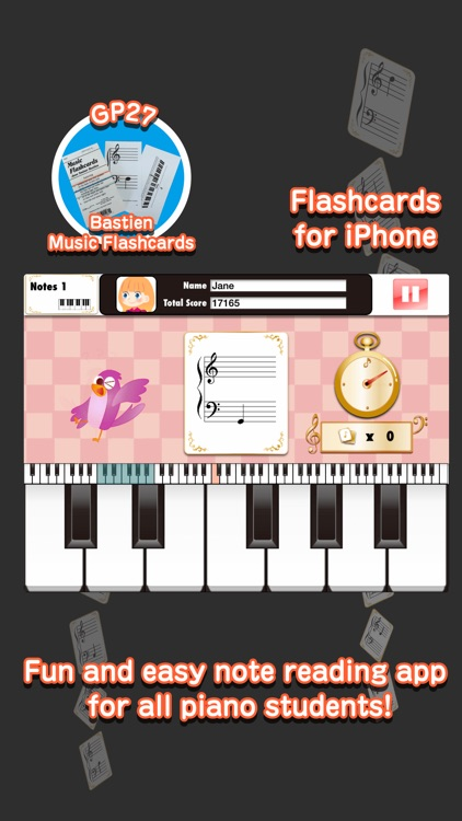 Bastien Piano Flashcards