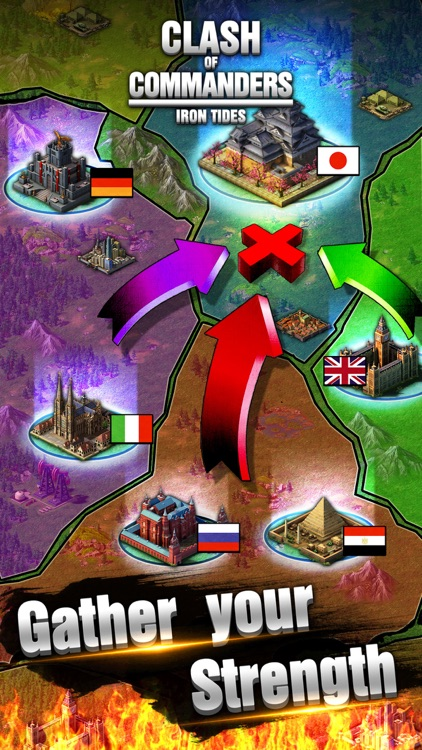 Clash Of Commanders - I.T. Best Strategy Game screenshot-3