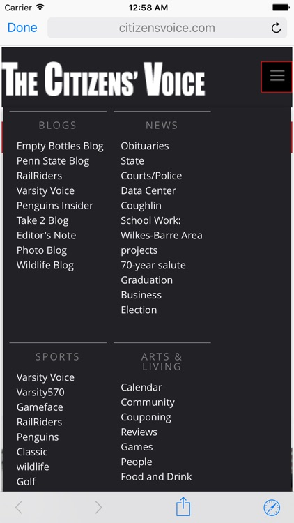 The Wilkes-Barre Citizens' Voice for iPad screenshot-4