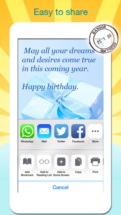 Birthday Greeting Cards - Text on Pictures: Happy Birthday Greetings screenshot-3