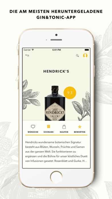 Screenshot for Ginventory – Der Perfekte Gin & Tonic Guide in Germany App Store