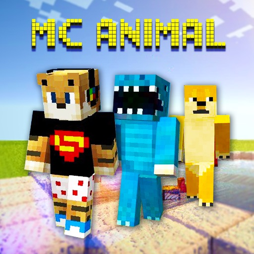 Cube Animal Skins - Skin Collection for MineCraft Pocket Edition iOS App
