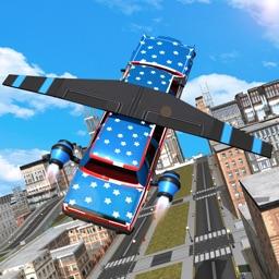 Flying Limo Car Driving 3D Simulator