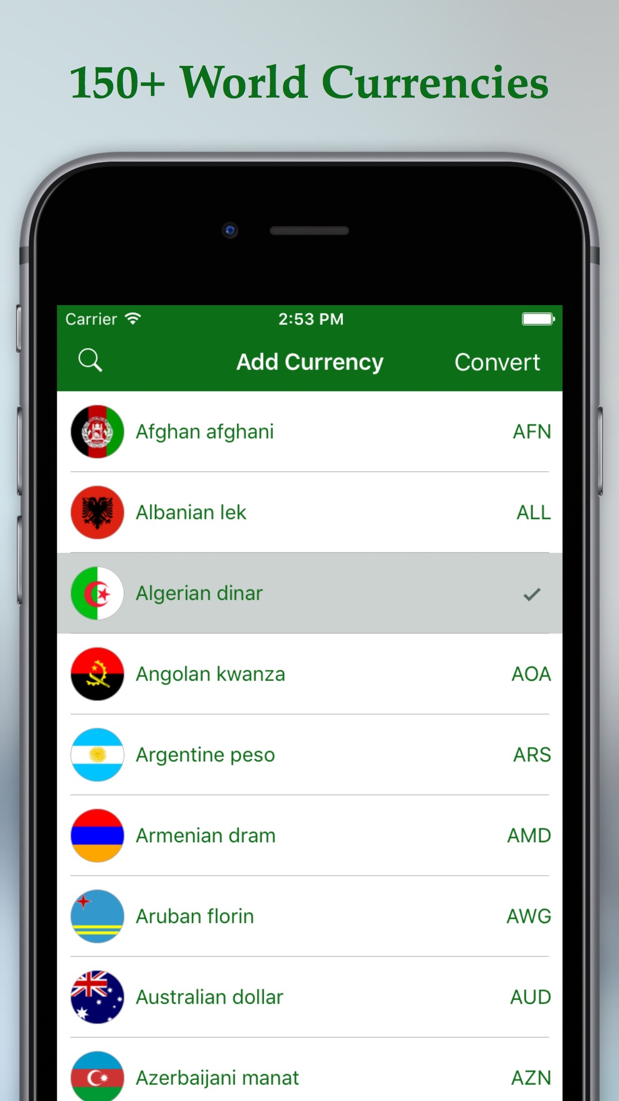 Currency Converter - Live Exchange Rates of Currency Converter Screenshot