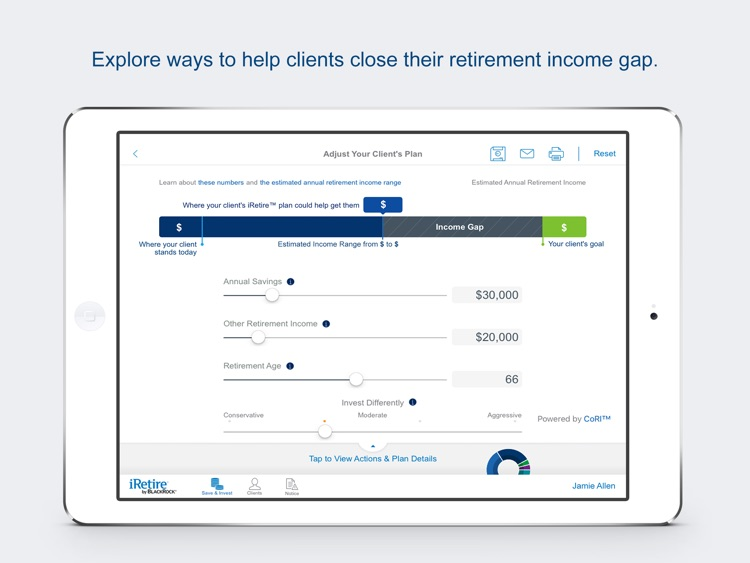 iRetire by BlackRock - for Financial Advisors screenshot-3