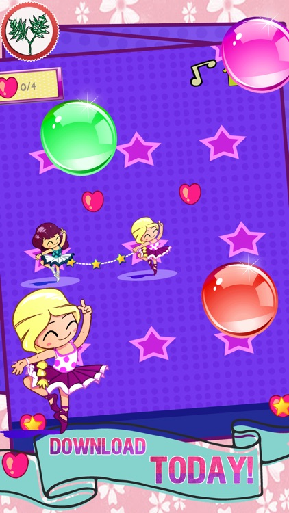Ballet Dancer Ballerina- Princesses Game for Kids and Girls with Classical Music screenshot-3