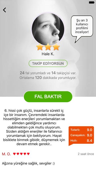 Falbakar - Gerçek Falcılardan Yorumlarのおすすめ画像3