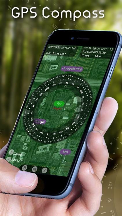 Compass Heading - GPS Navigation Finder