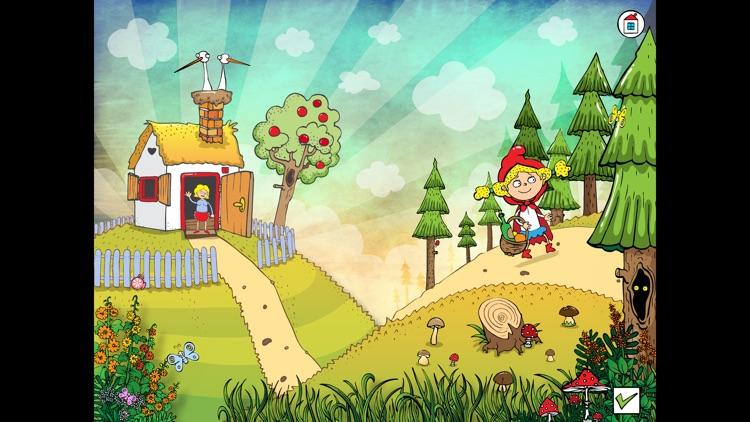 Pohádka - animovaná Červená Karkulka