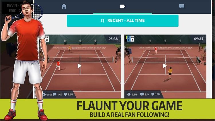 Flick Tennis Online - Play like Nadal, Federer, Djokovic in top multiplayer tournaments!