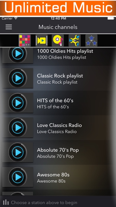 60s 70s 80s retro music radio & classic country rock songs from