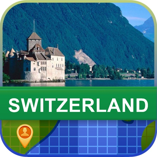 Offline Switzerland Map - World Offline Maps