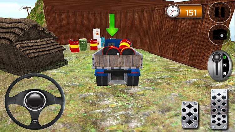 Hill Climb Truck Driving Simulator 3D screenshot-3