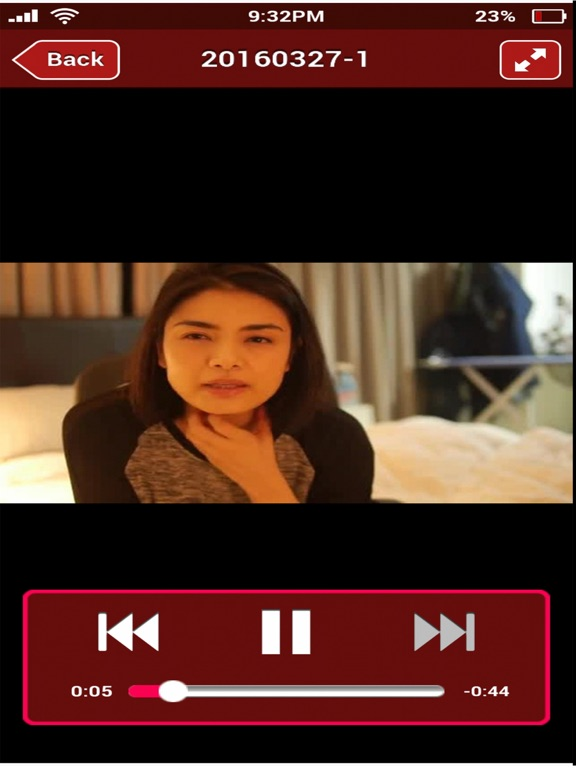 iPad Image of Sara is Missing