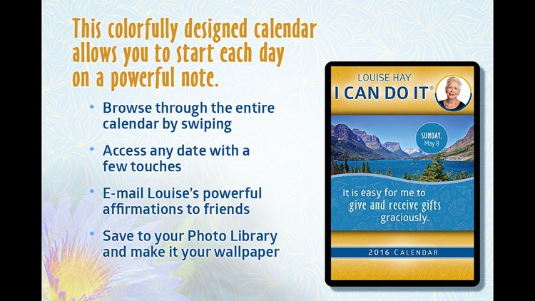 I Can Do It 2016 Calendar - Louise Hay