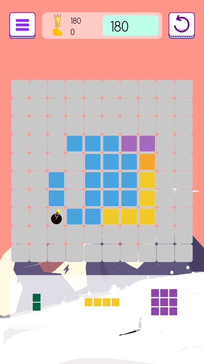 Gridblock - 10/10 Jigsaw Grid Block Logic Puzzle screenshot-3