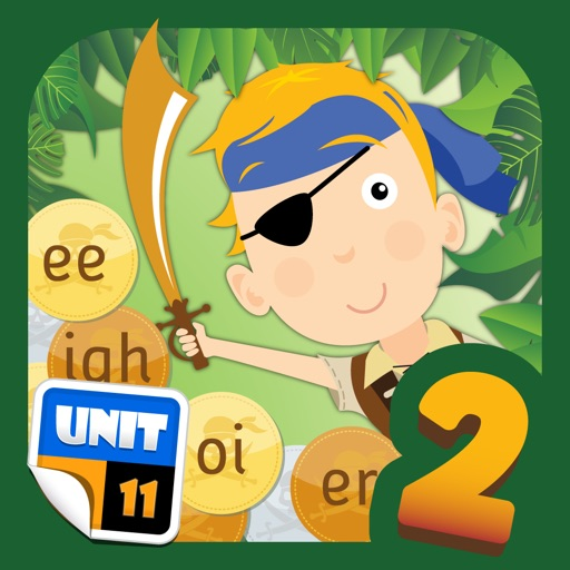 Pirate Phonics 2 : Kids learn to read!