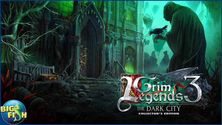 Grim Legends: The Dark City - Hidden Object Game screenshot-4
