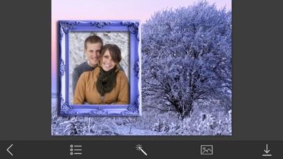 Xmas Hd Photo Frames - Inspiring Photo Editor screenshot two