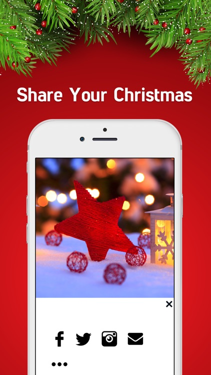 Christmas Holiday Wallpaper- Christmas Backgrounds screenshot-3