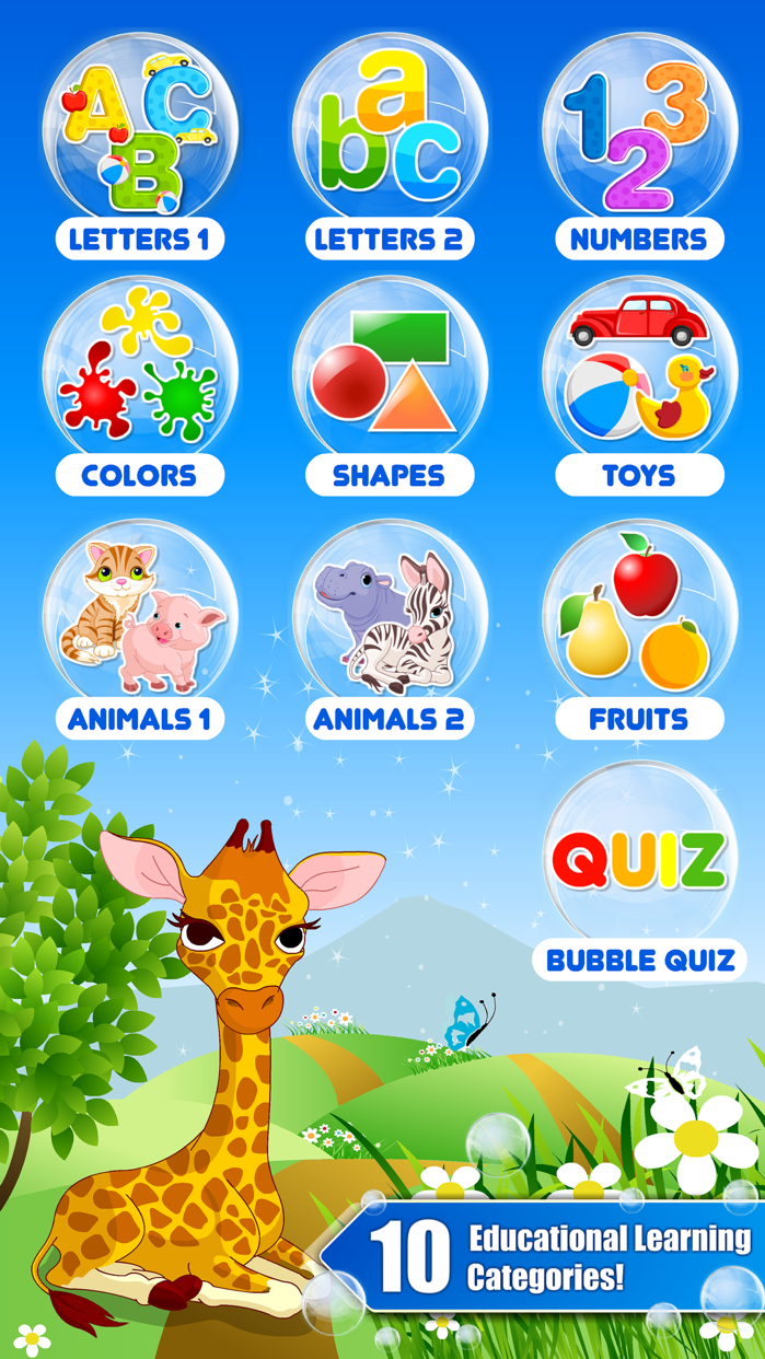 Toddler games for 2 year olds. Screenshot