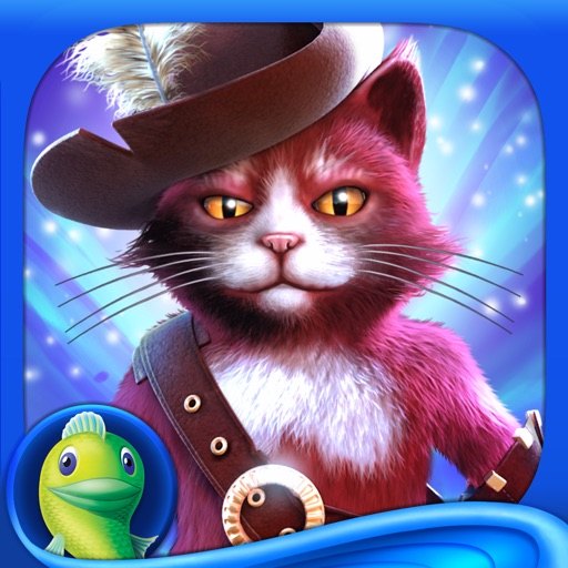 Christmas Stories: Puss in Boots HD - A Magical Hidden Object Game (Full) icon