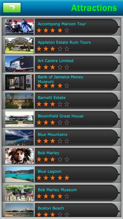 Jamaica Offline Map Travel Guide
