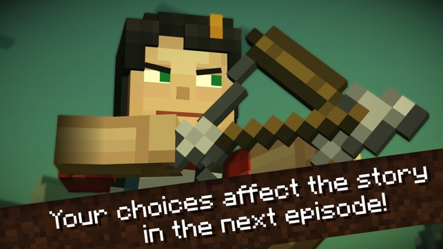 Minecraft: Story Mode Screenshot