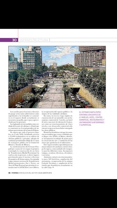 Revista Vivienda MagazineScreenshot of 4