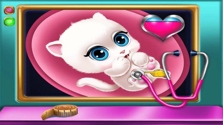 猫猫妈妈怀孕产检 -免费儿童医生游戏