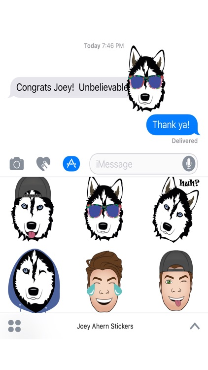 Joey Ahern Stickers