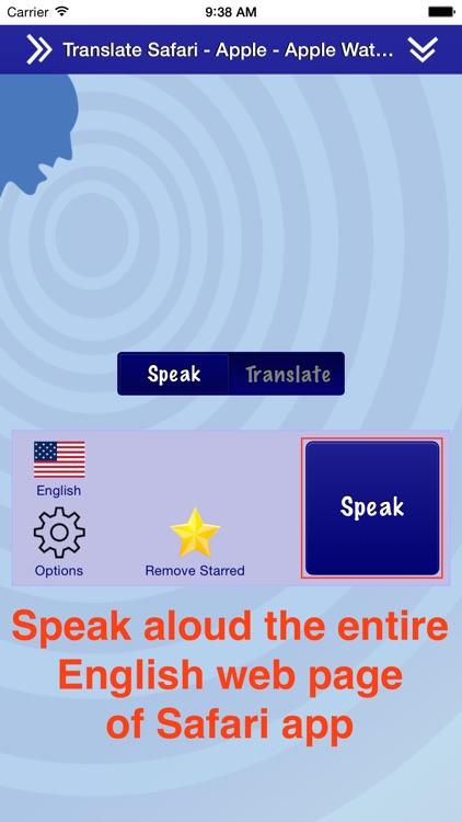 Translate for Safari screenshot-3