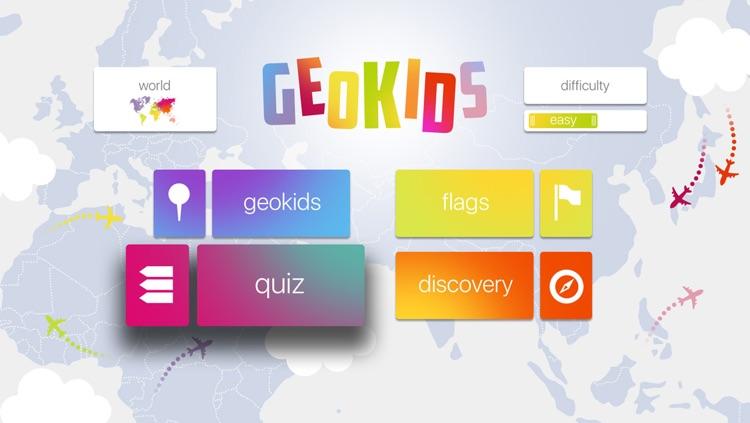GeoKids World - Fun Ways to Learn Geography for Kids