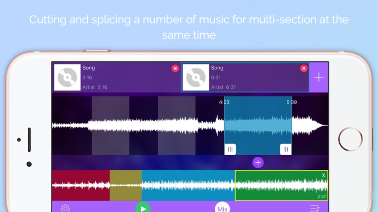 Music Editor&Ringtone Maker Pro-Song Cutter&Mixer screenshot-0