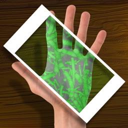 Scanner Bacteria Hand Joke