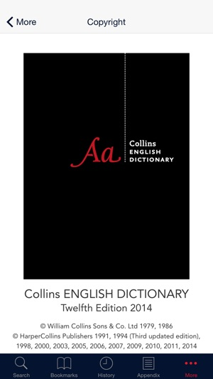 Collins dictionarythesaurus on the app store solutioingenieria Choice Image