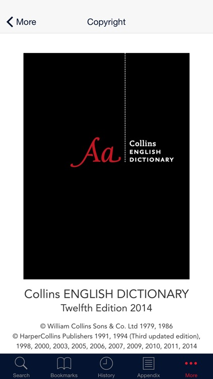 Collins Dictionary+Thesaurus screenshot-4