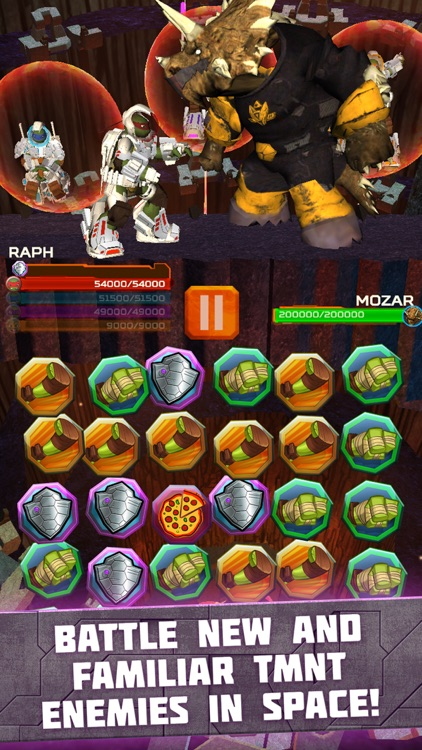 Teenage Mutant Ninja Turtles: Battle Match Game