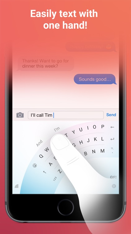 Word Flow Keyboard - GIF, swipe, custom theme