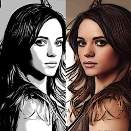 Cartoon Sketch Avatar Free - Pink Pencil & Coloring Toon Camera Photo Effects