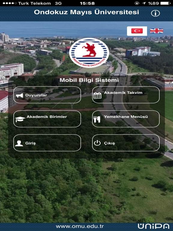 Ondokuz Mayıs Üniversitesi Mobilのおすすめ画像1