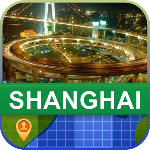 Offline Shanghai, China Map - World Offline Maps