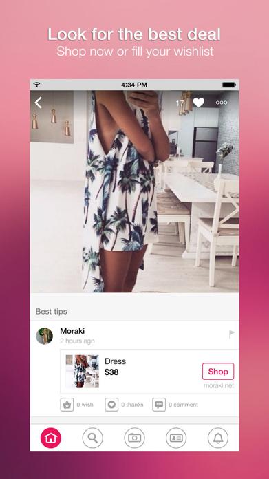 Wheretoget - Fashion shopping Screenshot