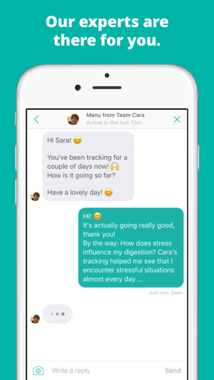 Cara: Food, Mood, Poop Tracker on the App Store