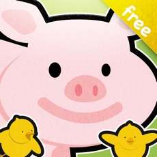 Activities of Farm animals in French for 2-5 years old - Lite
